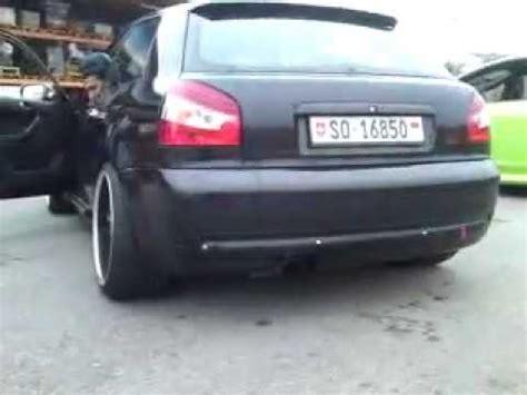Auspuff Audi A3 8l by Audi S3 8l Bastuck Exhaust Auspuff Sound Olten Ol10