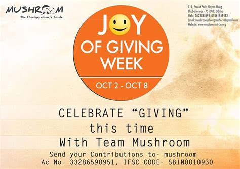 Of Giving Week Essay by Daanutsav Celebrate The Of Giving Week Oct 2 8