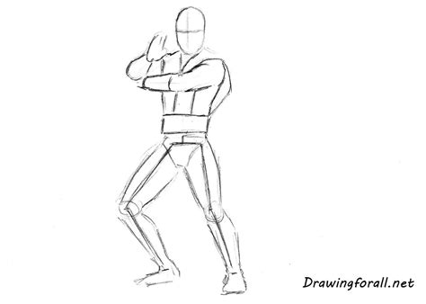 how to draw scorpion from mortal kombat x easy things to how to draw scorpion drawingforall net