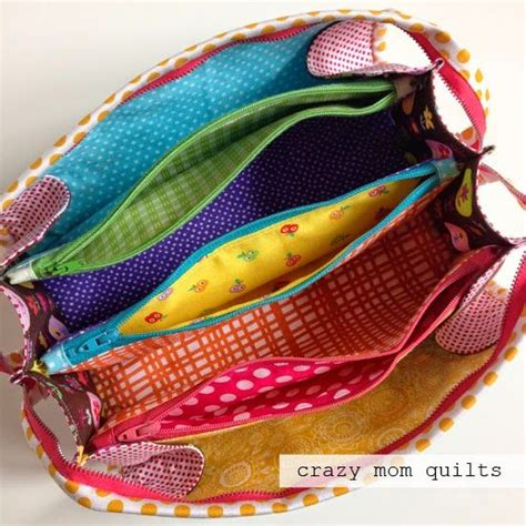 multi zippered pouch pattern super cool zipper pouch with lots of zipper compartments
