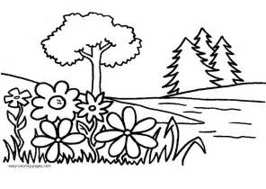 Landscape Coloring Sheets Printable Coloring Coloring Page For Images Coloring Pics