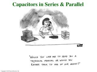 capacitor battery in series ppt capacitors in parallel and in series powerpoint presentation id 1169481