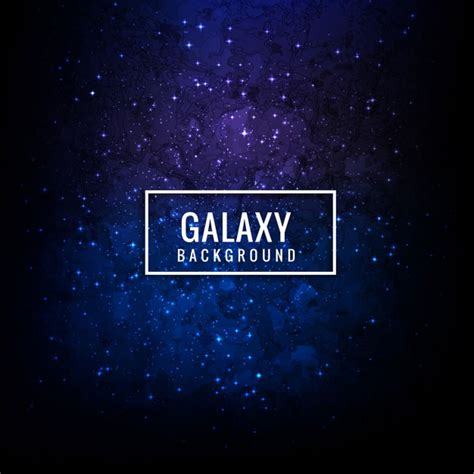 galaxy vector wallpaper blue galaxy background vector free download