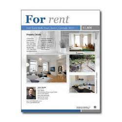 rental property flyer template for rent flyers