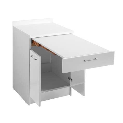 tavolo estraibile mobile con tavolo estraibile 60x60x86 wash