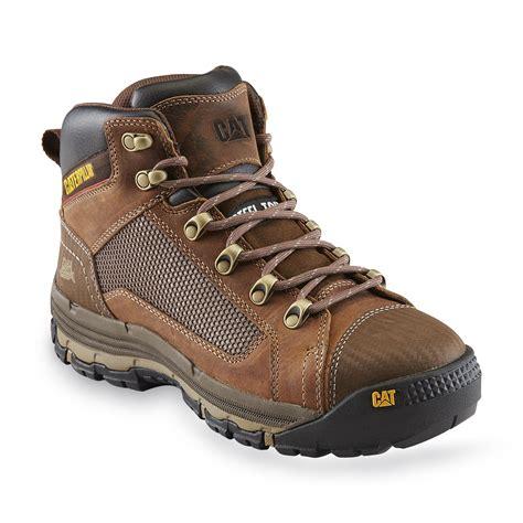 sears caterpillar boots cat footwear s convex mid 5 quot steel toe eh work boot