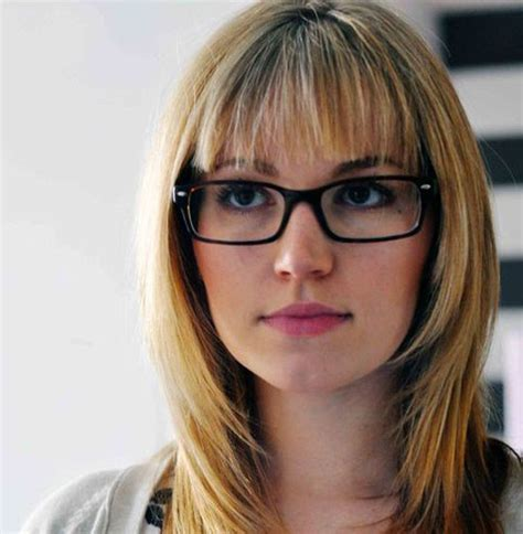 Hairstyles For Glasses For by Medium Hairstyles For With Glasses 2014 Medium
