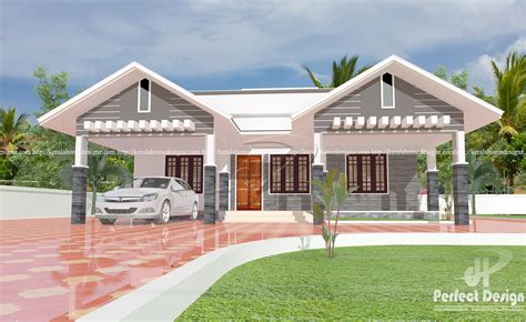 kerala home design 1 floor modern single floor home design kerala home design