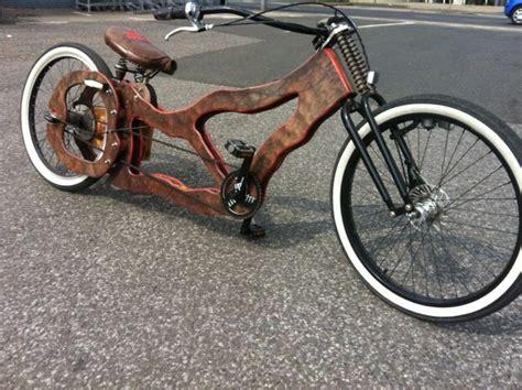couch bike amazing bike selfmade bike wooden beach cruiser