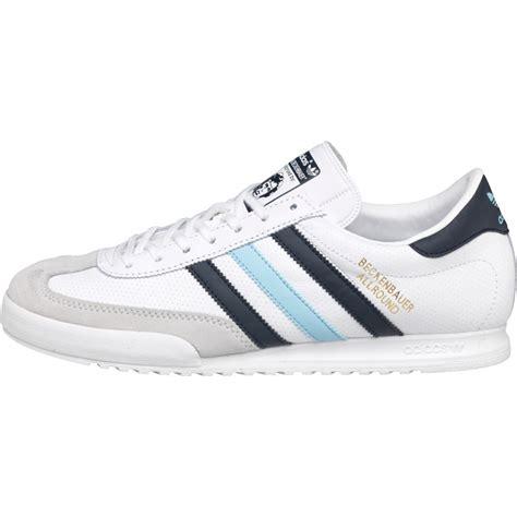 Harga Adidas Beckenbauer buy adidas originals mens beckenbauer trainers white navy