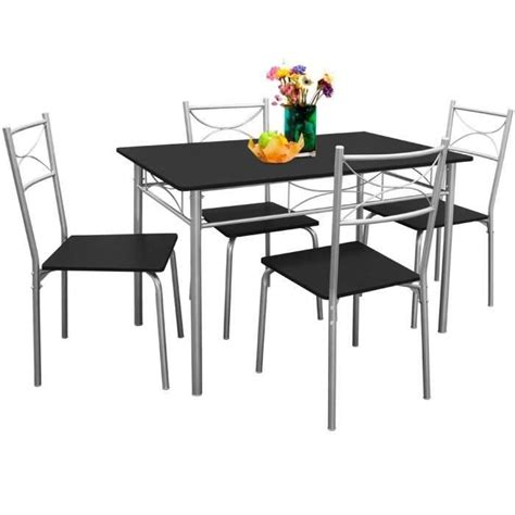cdiscount table et chaise ensemble tables et chaises paul set 5 pcs achat
