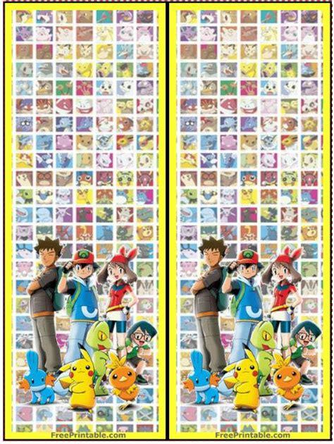 printable bookmarks pokemon bookmarks http www freeprintable com print free