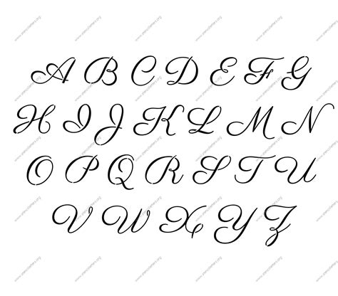 free letter font templates free printable alphabet stencil letters template