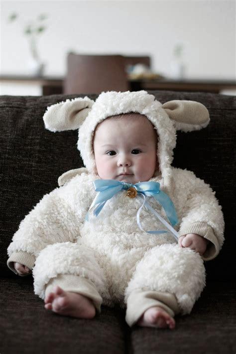 Handmade Sheep Costume - handmade baby costume ideas