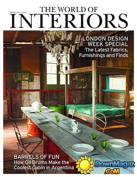 homes and interiors magazine the world of interiors march 2014 187 pdf