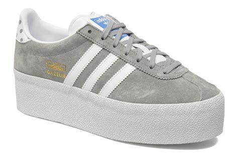 platform adidas sneakers adidas originals gazelle og platform up ef w trainers in