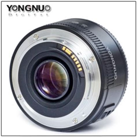 Lensa Yongnuo 35mm Fix F2 For Canon Dslr Yn 35 Mm Bokeh yongnuo is coming with a 35mm f 2 clone lens for canon