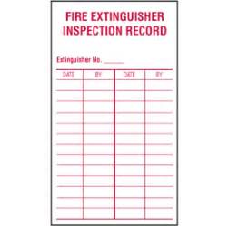 extinguisher inspection tag template free printable travel expense report book covers