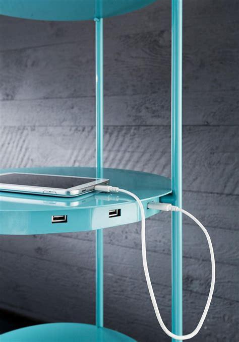 floor l with charging station multifunction floor l that comes with shelf and