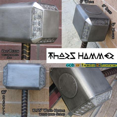 movie quality thor hammer movie replicas swords collectibles heavenly swords