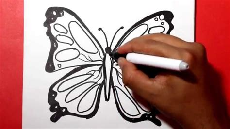 imagenes lindas hechas a lapiz how to draw a butterfly como dibujar una mariposa como