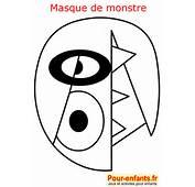Masque De Monstre Carnaval Pour Petits Monstres Pictures To Pin On