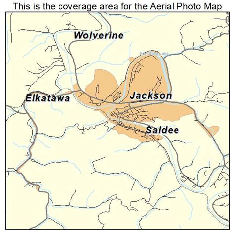jackson kentucky map aerial photography map of jackson ky kentucky