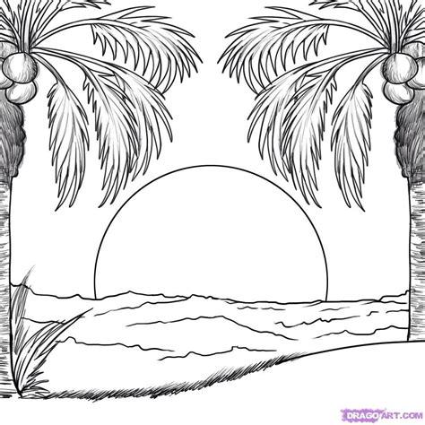 sunriseset drawings   aquarell malen