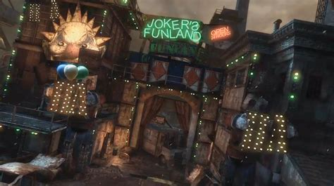 theme park owned by a television clown on the simpsons joker s funland batman wiki fandom powered by wikia