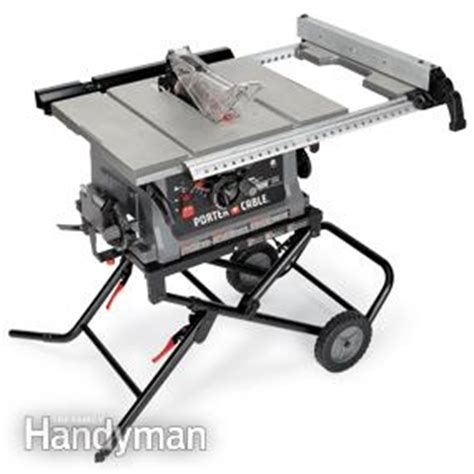 porter cable portable table saw review portable table saw reviews the family handyman