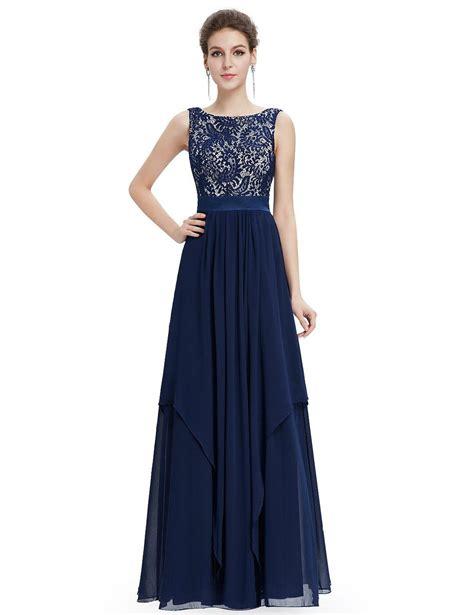 pretty damen lange festkleider uk dunkelblau