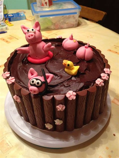 Obeng 8 In One pigs in the mud cake piggies omas rezepte