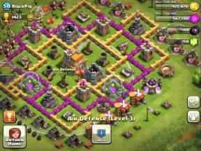 Clash of clans town hall level 7 best base defense youtube