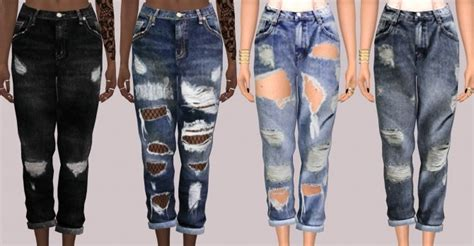 Dining Room Floors simsimi boyfriend jeans at lumy sims 187 sims 4 updates