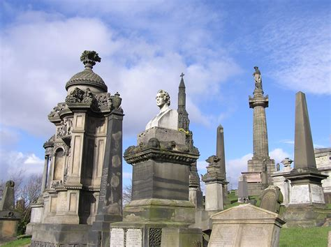 Search Glasgow The Glasgow Necropolis Glasgow Scotland Atlas Obscura