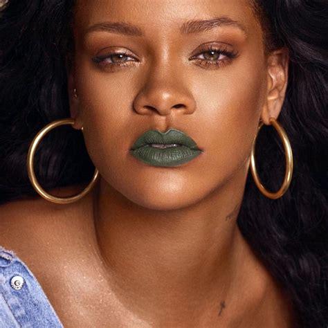 Rihanna Pictures by Rihanna Fenty Cosmetics New Lipstick Line Mattemoiselle
