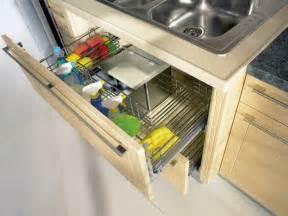 Pull out sink cupboard modern kitchen toronto by svea kitchens
