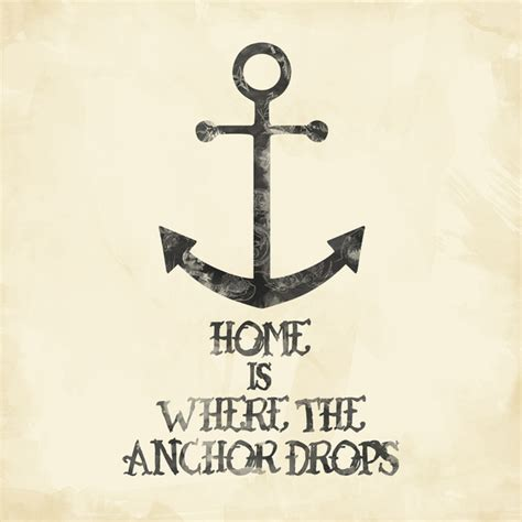 Anchor Print Inspirational Print Quot - funny quotes about an anchor quotesgram