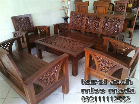 Kursi Pangkas Di Aceh kursi tamu aceh 3211 mada jati furniture