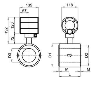 Ni 80 Ribbongepengflat 01 X 08 2 Meter elektromagnetic flow meters fg4000 basic information limesa meters