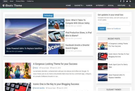 7 template blogger terbaik dan responsive gratis