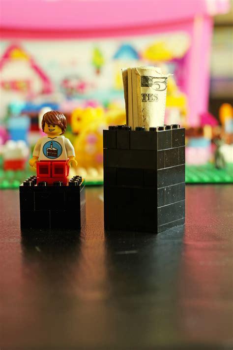 lego holder how to build a lego money holder lego money gift