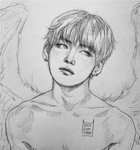 Kpop Sketches by Gerelateerde Afbeelding Fanart In 2018 Bts