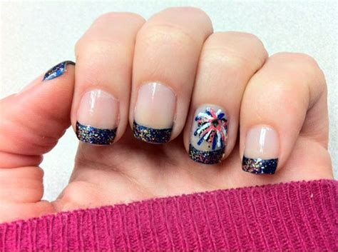 Voorbeelden Nagels Versieren by 15 Interesting American Flag Inspired Nail Designs