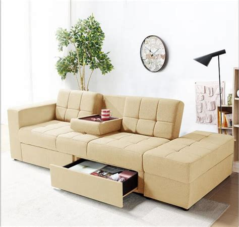 Apartment Sofa Beds Japanese Style Sofa Bed Multi Functional Small Apartment Living Room Sofa Fabric Sofa Bed In