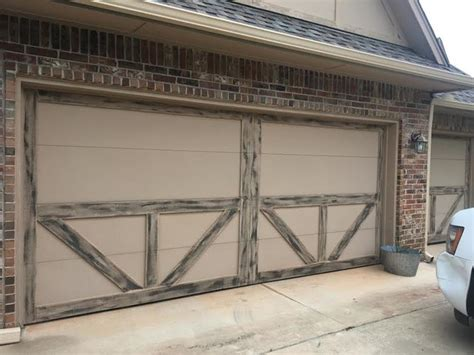 Trotter Overhead Door Custom Smart Trim Farmhouse Garage Oklahoma City By Trotter Overhead Door Garage Home