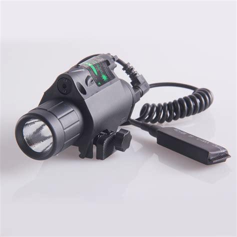 Brand New 200 Lumen Tactical Pistol Led Flashlight Green
