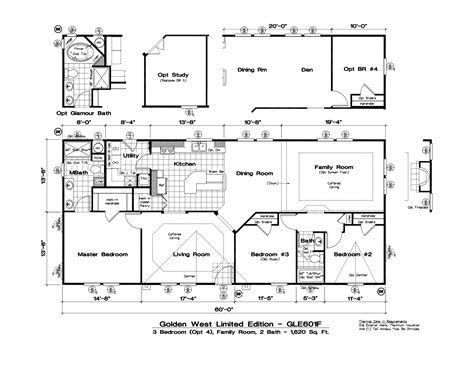 golden west manufactured homes floor plans tlc manufactured homes golden west limited floor plans