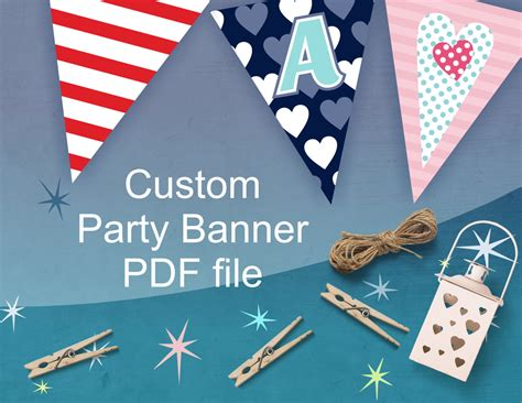 custom party banner personalized party decorations for