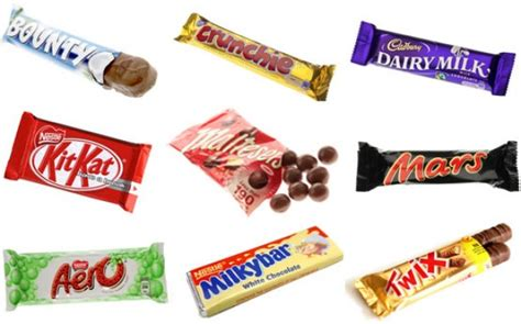chocolate bar brands